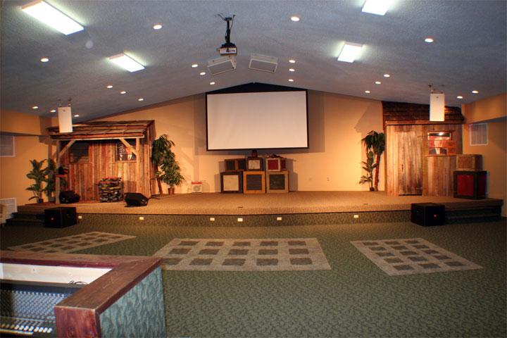Tri County Church Youth Room A V